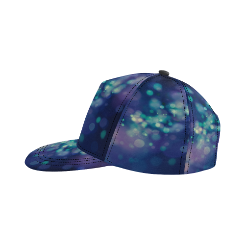 Blue Blur All Over Print Snapback Hat D