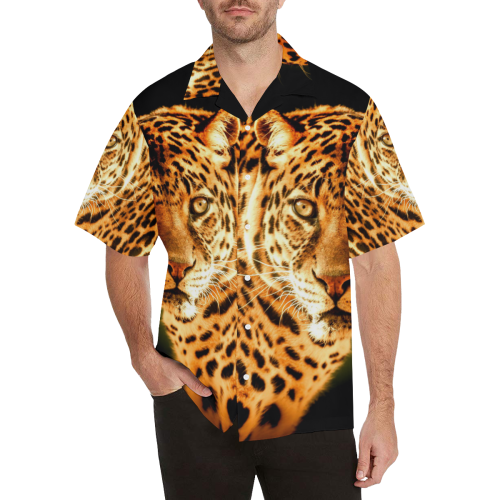 LEOPARD 2 Hawaiian Shirt (Model T58)