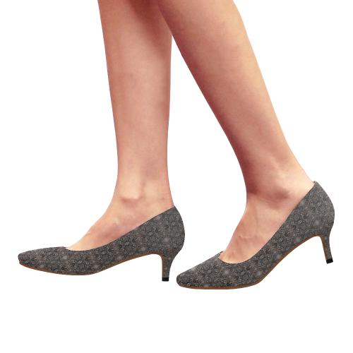 Coli Copper Women's Pointed Toe Low Heel Pumps (Model 053)