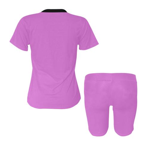 color orchid Women's Short Yoga Set (Sets 03)