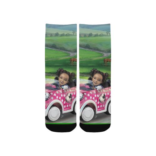 Road Trip Socks Custom Socks for Kids