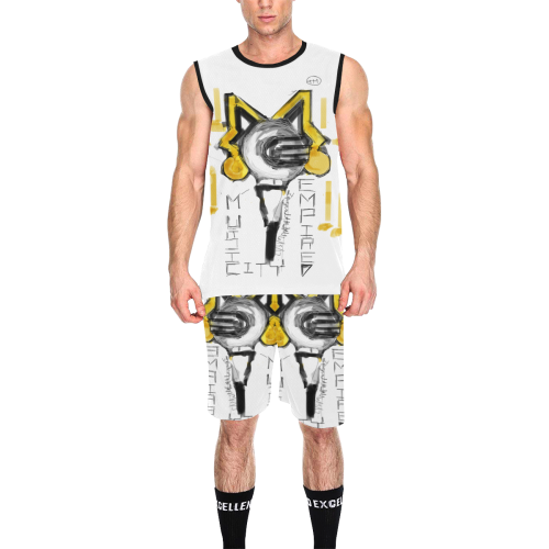 mce logo jersey All Over Print Basketball Uniform