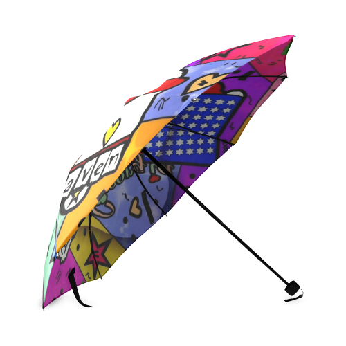 Brookhaven by Nico Bielow Foldable Umbrella (Model U01)