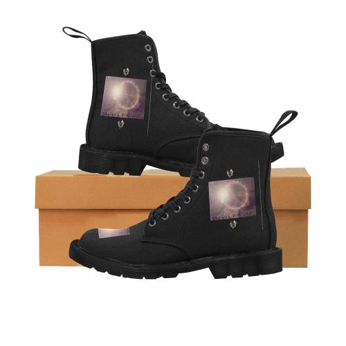 SERIPPY Martin Boots for Men (Black) (Model 1203H)