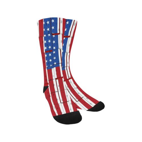 USA Popart by Nico Bielow Trouser Socks (For Men)