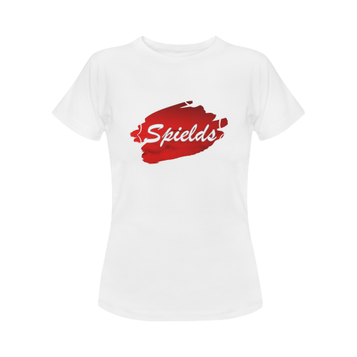 Spields Signature Logo Women's T-Shirt in USA Size (Front Printing Only)
