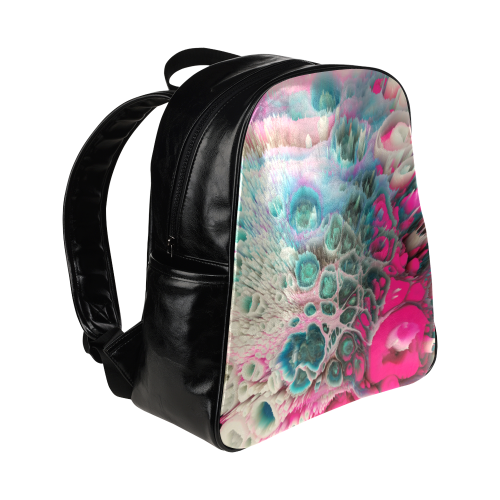 raspberry galaxy backpack Multi-Pockets Backpack (Model 1636)