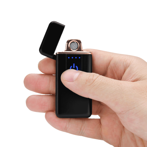 Pretty Peacock USB Rechargeable Lighter