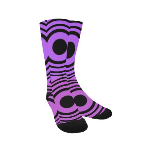 Psycho Circles Trouser Socks (For Men)
