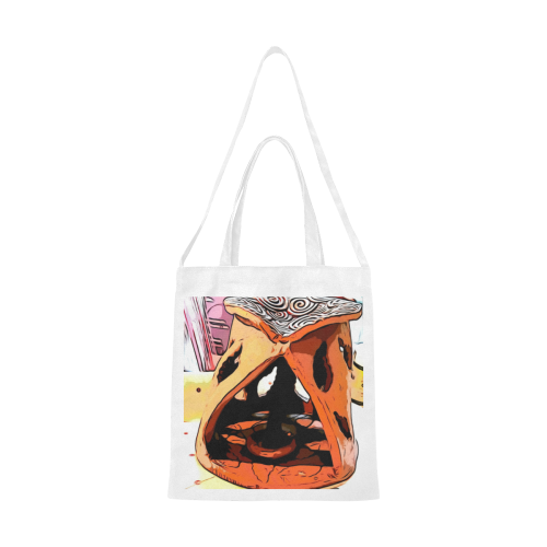 Zen Canvas Tote Bag/Medium (Model 1701)