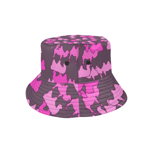 camelflage pink All Over Print Bucket Hat
