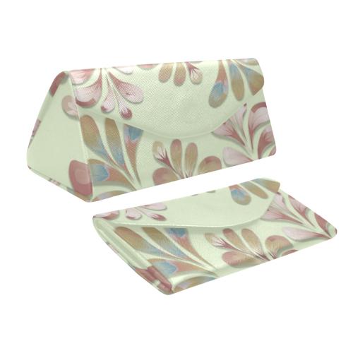Pastel Floral Dance Pattern Custom Foldable Glasses Case