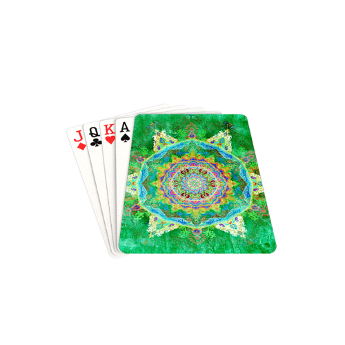 "India 17 Playing Cards 2.5""x3.5"""