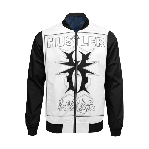 Hustler Shaolin Gear Xin Xaio Jacket All Over Print Bomber Jacket for Men/Large Size (Model H19)