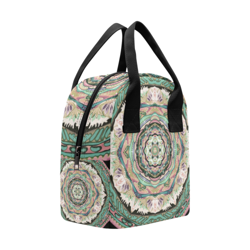 mandala tendre11 Insulated Zipper Lunch Bag (Model 1689)