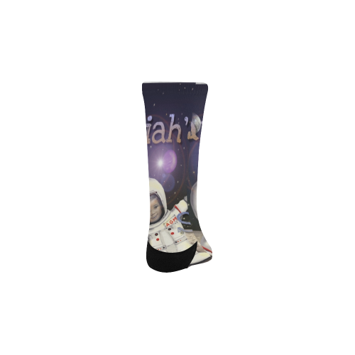 Trip to Space Socks Custom Socks for Kids