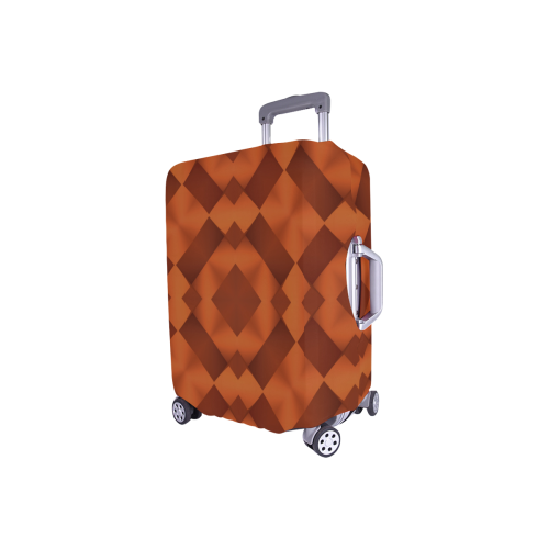 """Geometric Pattern Luggage Cover/Small 18""""-21"""""""