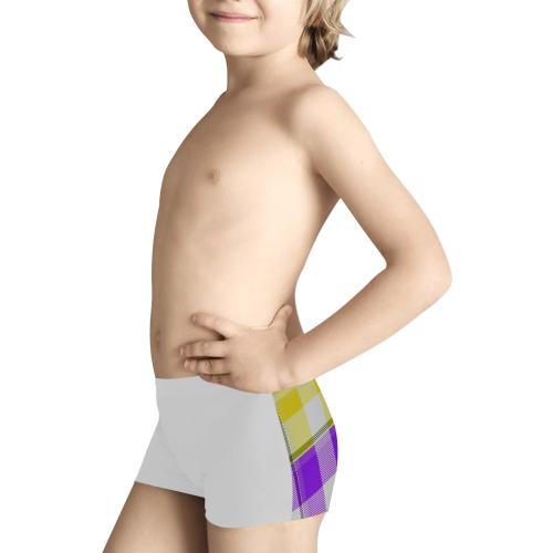 TARTAN PATTERN 4 Kids' All Over Print Boxer Briefs (Model L24)