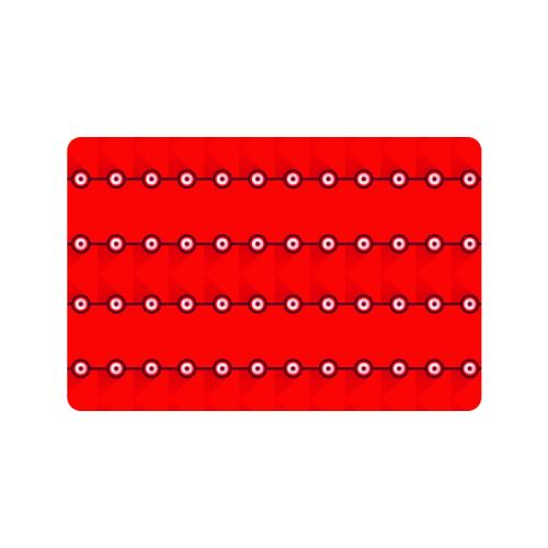 """10000 art324 3 Doormat 24""""x16"""""""