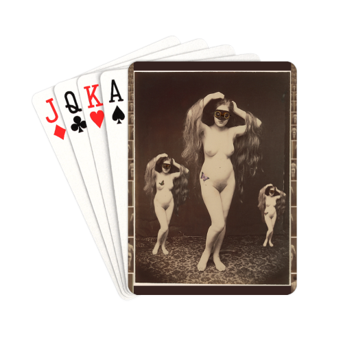 "Three Muses Playing Cards 2.5""x3.5"""