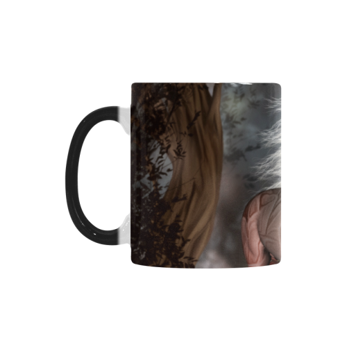 Fantasy horse with fairy Custom Morphing Mug (11oz)