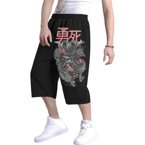 Courage & Death Shogun Men's All Over Print Baggy Shorts (Model L37)
