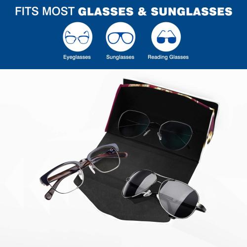 SERIPPY Custom Foldable Glasses Case