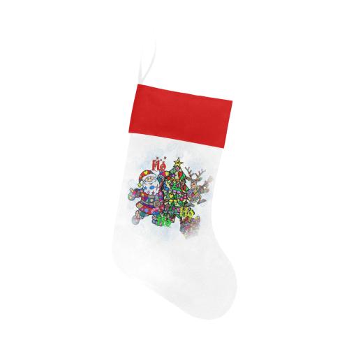 Ho Ho Ho X Mas by Nico Bielow Christmas Stocking