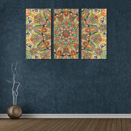 mandala 7 Canvas Wall Art X (3 pieces)