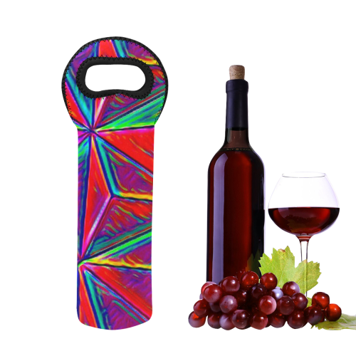 Vivid Life 1A by JamColors Neoprene Wine Bag