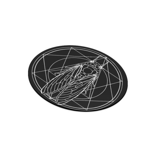 cicada Round Mousepad