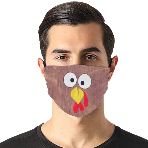 Truthan by Nico Bielow Flat Mouth Mask with Drawstring