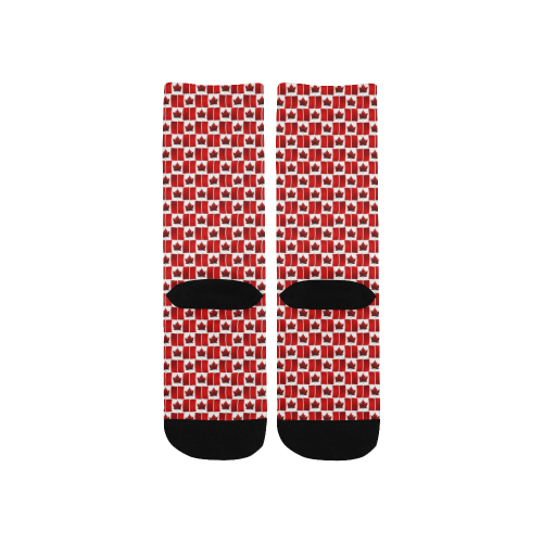 Canada Flag Kid's Socks Kids' Custom Socks
