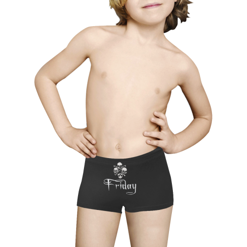 Creepy Friday Kids' All Over Print Boxer Briefs (Model L24)