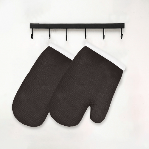 color licorice Oven Mitt (Two Pieces)