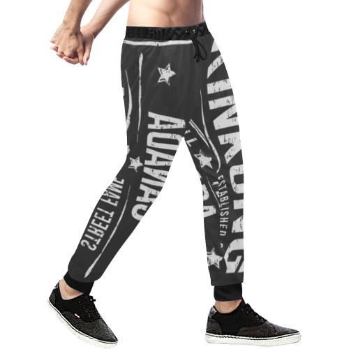 830395 (1) Men's All Over Print Sweatpants (Model L11)