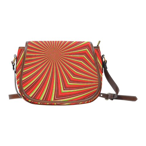 Hypnotic Saddle Bag/Large (Model 1649)