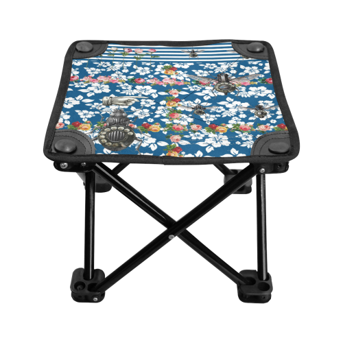 Rotary Bugs on The Canal Folding Fishing Stool