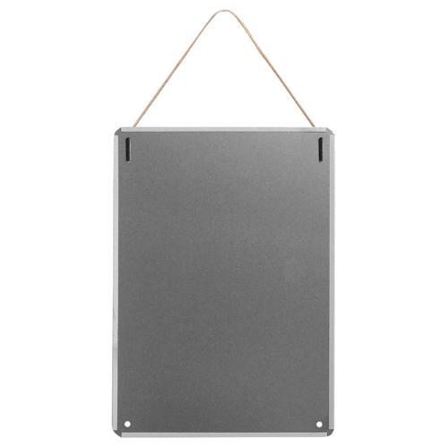 "happy toast grey Metal Tin Sign 12""x16"""