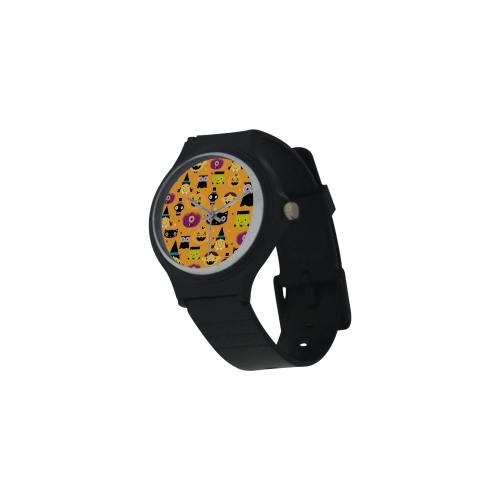 Halloween Watch Unisex Round Plastic Watch(Model 302)