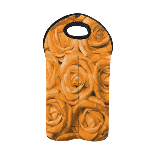 gorgeous roses M 2-Bottle Neoprene Wine Bag