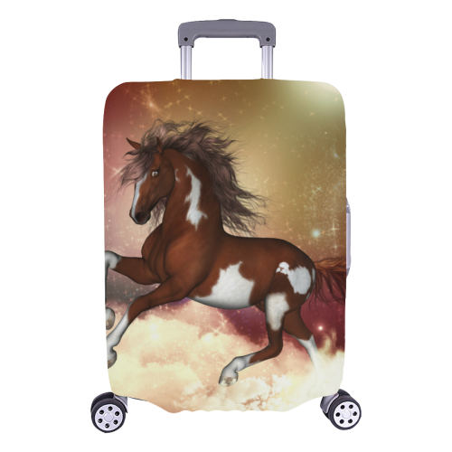 "Wonderful wild horse in the sky Luggage Cover/Large 26""-28"""
