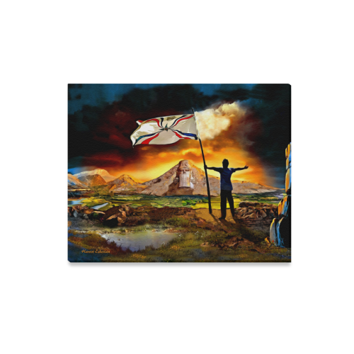"""The Promised Land Canvas Print 20""""x16"""""""