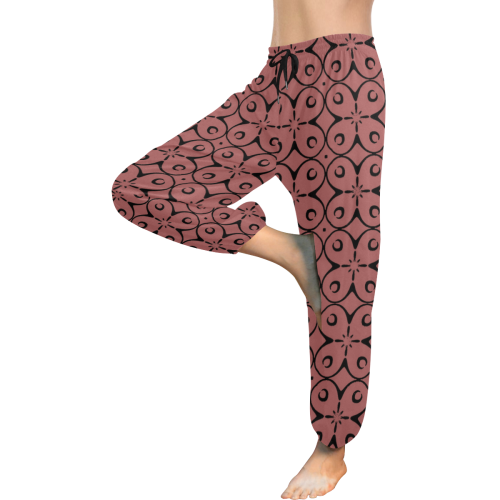 My Lucky Day Dusty Cedar Women's All Over Print Harem Pants (Model L18)