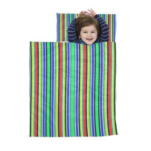 Vivid Colored Stripes 2 Kids' Sleeping Bag
