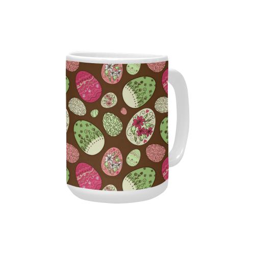 EasterEggs Custom Ceramic Mug (15OZ)