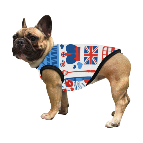 London All Over Print Pet Tank Top