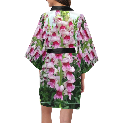 pinkflowers Kimono Robe
