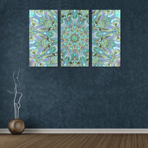mandala 2 Canvas Wall Art X (3 pieces)
