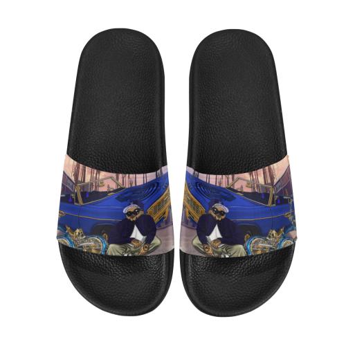 THE OWL N.W.A Women's Slide Sandals (Model 057)